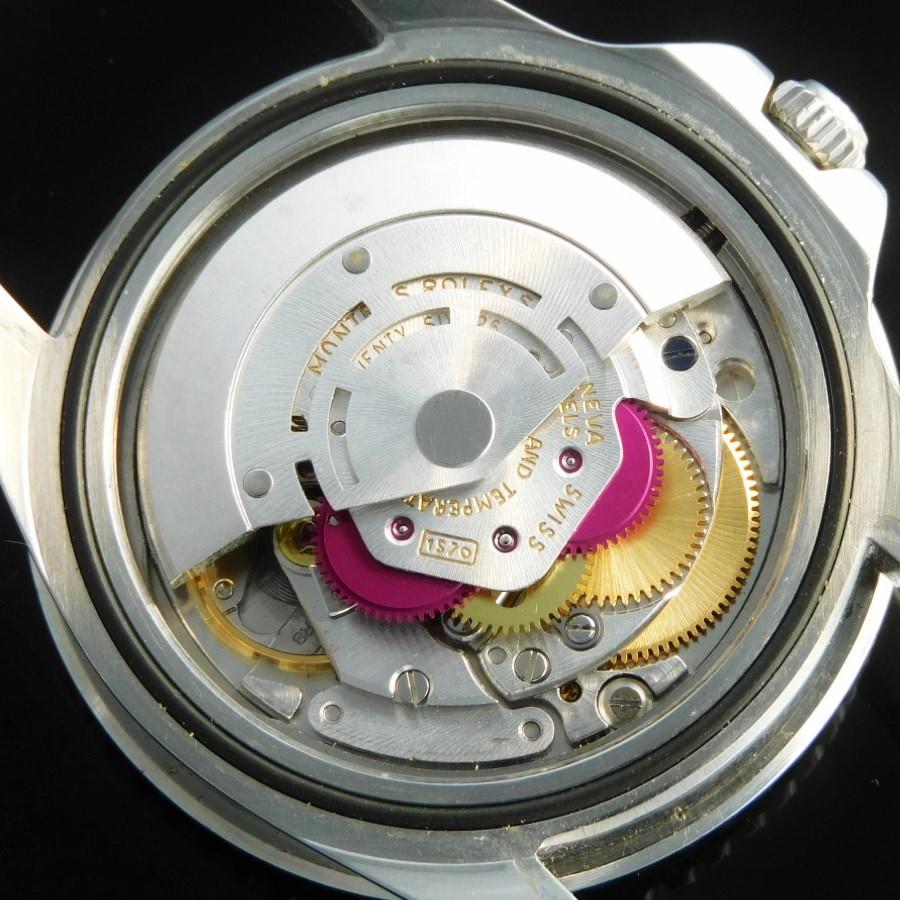 ROLEXサービスギャラ付属★ロレックス GMTマスター Ref.1675/0★オマーン公式モデル☆アスプレイ・赤紋章・センターシリアルのサムネイル