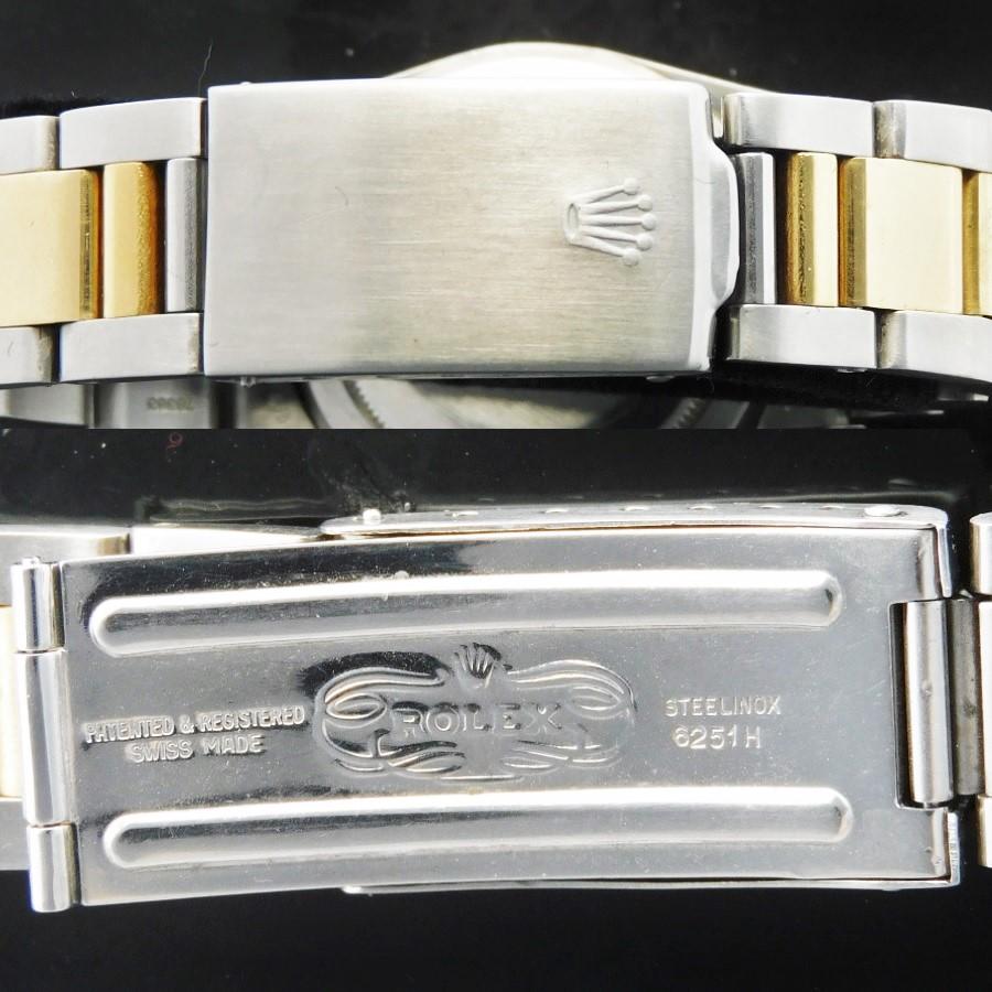 激希少1975年頃製造14金無垢&SSフジツボブラウン★ロレックス GMTマスター Ref.1675/3★Casl.1570☆3連バードコンビ78363/FF.458のサムネイル