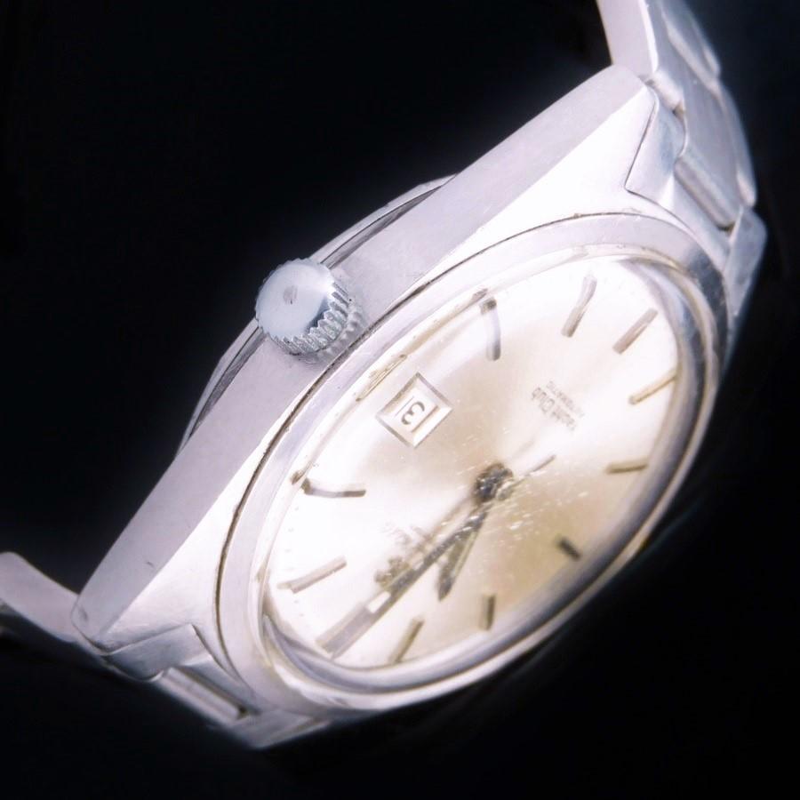 激希少1970年頃製造ステンレススティール★IWC ヨットクラブ Ref.811 デイト★純正ツインロックブレス☆キャリバー8541Bのサムネイル