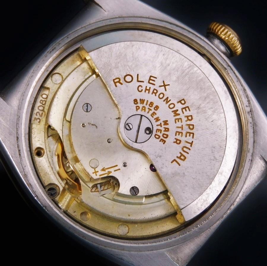 幻1950年ファイナルバブルバックCal.635★ロレックス バブルバック スモセコ Ref.3133★14金無垢ピンクゴールド&ステンレススティールのサムネイル
