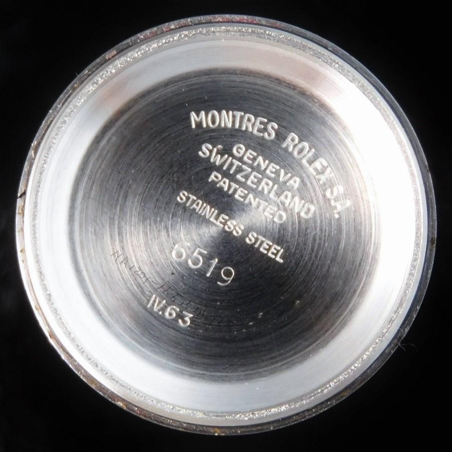 激希少1963年製造立体的紋章ROLEX★ロレックス オイスターデイト Ref.6516★Cal.1130☆ブレスRef.62510/FF.568レディースのサムネイル