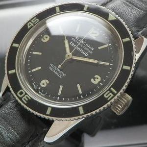 激希少1970's★ブランパン バチスカーフ テクニサブ★Cal.2770 オートマティック インカブロック