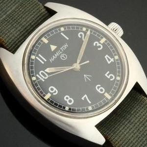 1973年イギリス公式軍用★ハミルトン W10★ブロードアロー Cal.6t49