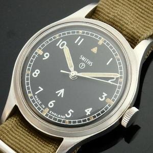 1968年イギリス公式軍用エアフォース★スミス ウオッチW10★ブロードアロー Cal.60466E