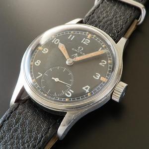 激希少☆イギリス陸軍官給腕時計★オメガ★ブロードアロー/W.W.W (WATERPROOF WRIST WATCH) Cal.30T2
