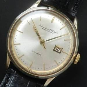 1963年9金無垢ピンクゴールド★IWC オールドインター★ペラトンCal.3541