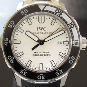メーカー保証残20ヵ月以上★IWC アクアタイマー★Ref.IW356805☆ミント Cal.30110 ステンレススティール