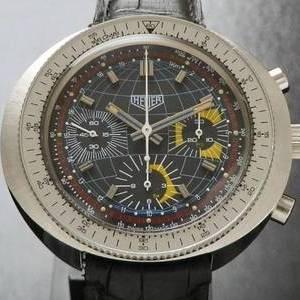 激希少1975年モデル★ホイヤー カイン Ref.2006-9★デッドストック級 Cal.7736  オートマティッククロノグラフ