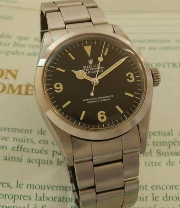 new concept 1f66d c6fdc 1983年極上☆ロレックス エクスプローラー Ref.1016/Cal.1570 ...