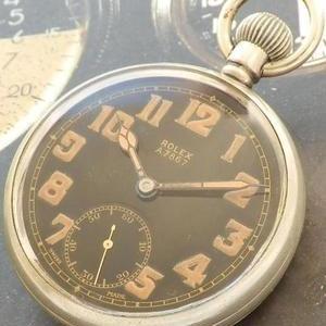 本物イギリス空軍官給★ロレックス G.S.マーク2 Aタイプ★Cal.CORTEBERT526 1939年