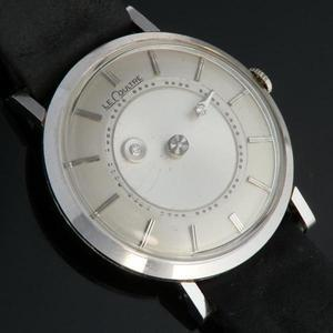 "★★★ LeCoultre(Jaeger-LeCoultre) ★★★  14K Solid White Gold ""Mystery Dial"" Urtra Slim ★ 14金無垢ホワイトゴールド ""ミステリーダイアル"" ウルトラスリム  Ref.182/Cal.480CW"