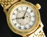 """★★★ LONGINES ★★★  All 18K SOLID Gold""""HOUR ANGLE THE LINDBERGH""""18K Beans☆オール 18金無垢 """"アワーアングル リンドバーグ"""" 18金無垢純正ビーンズブレスレット  Ref.5230-628/Cal.628.1(ETA2892-2)"""