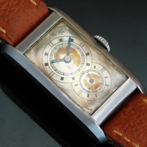 "★★★ LONGINES ★★★  14K Solid Gold "" DOCTORS DUO DIAL "" In 1933's☆ ""ドクターデュオダイアル"" 1933年製造  Ref.3242/Cal.9.32"