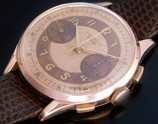 "★★★ ERNEST BOREL Co ★★★  ""18K Solid Rose Gold -PRIMA- Tropical Chronograph Dial★18金無垢ローズゴールド ""プリマ"" トロピカルクロノグラフダイアル  Ref.8373/Cal.23"
