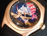 "★★★ CORUM ★★★18k Solid Pink Gold ""BUBBLE PRIVATEER"" Limited Edition Size 66/99★18金無垢ピンクゴールド ""バブル プライべディア"" 限定99本/エディションサイズ No.66  Ref.082.150.55/Cal.2892A2"