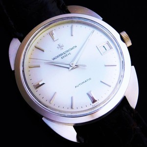 """★★★ VACHERON & CONSTANTIN ★★★  THE FIRST AUTOMATIC """"CHRONOMETER ROYAL"""" 18K SOLID WHITE GOLD☆ザ・ファーストオートマティック """"クロノメーターロワイヤル"""" 18金無垢ビッグソードラグ""""  Ref.6694 Cal.1072/1"""