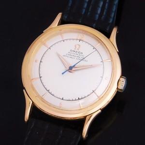 "★★★ OMEGA ★★★  The First Legendary ""Automatic Chronometer Bumper"" 18K Solid Gold☆ファースト伝説 ""自動巻クロノメーターバンパー"" 18金無垢  Ref.2516/Cal.352"