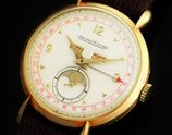 """★★★ Jaeger-LeCoultre ★★★  Triple Calender & Moon Phase / """"Louis Comtesse"""" 18k Solid Gold Case✩トリプルカレンダー&ムーンフェイズ ルイ・コンテス社製18金無垢ケース  Legendary Caliber """"494"""""""