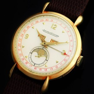 "★★★ Jaeger-LeCoultre ★★★  Triple Calender & Moon Phase / ""Louis Comtesse"" 18k Solid Gold Case✩トリプルカレンダー&ムーンフェイズ ルイ・コンテス社製18金無垢ケース  Legendary Caliber ""494"""