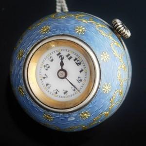 "★★★ ROLEX ★★★ 1915's Ball Watch Pendant – ""Hans Wilsdolf & Alfred Davis"" – 920 Solid Silver☆1915年頃製造 ボールウオッチペンダント ""ハンスウィルスドルフ & アルフレッドデイビス"" 920銀無垢 W&D Cal.7 3/4"
