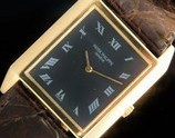 "★★★ PATEK PHILIPPE ★★★ 18K Solid Yellow Gold – THE SQUARE – All Roman painting Hour maker's☆18金無垢イエローゴールド ""ザ・スクエアー"" オールローマンアワーマーカーズ Ref.3572/Cal.175"