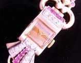 激激希少1930年代☆14金無垢ローズゴールド★クリントン レディース カクテルウオッチ★15p本物純正ダイヤモンド&13p本物純正ルビー