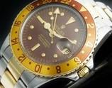 激希少1975年頃製造14金無垢&SSフジツボブラウン★ロレックス GMTマスター Ref.1675/3★Casl.1570☆3連バードコンビ78363/FF.458